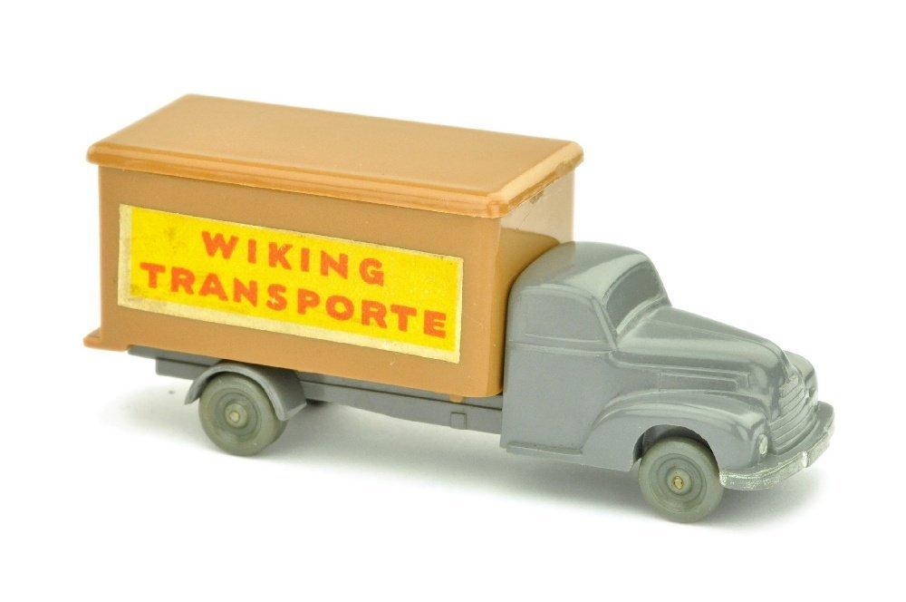 Koffer-LKW Ford, basaltgrau/ockerbraun