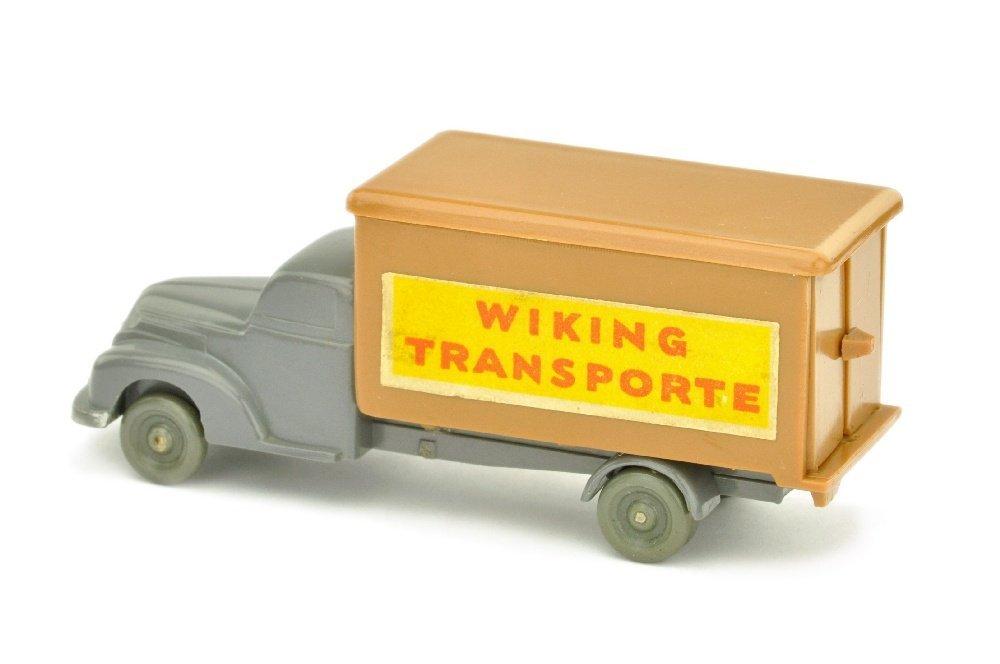 Koffer-LKW Ford, basaltgrau/ockerbraun - 2