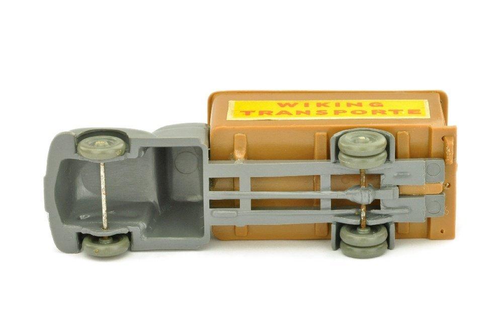 Koffer-LKW Ford, basaltgrau/ockerbraun - 3