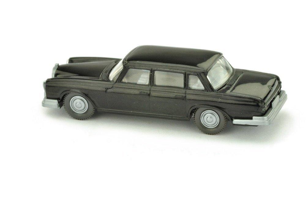 Mercedes 600, schwarz (Hutablage mit Rahmen) - 2