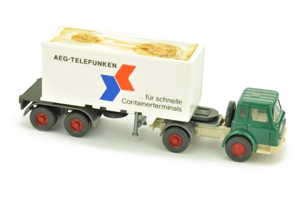 Werbemodell AEG/3 - Container-LKW