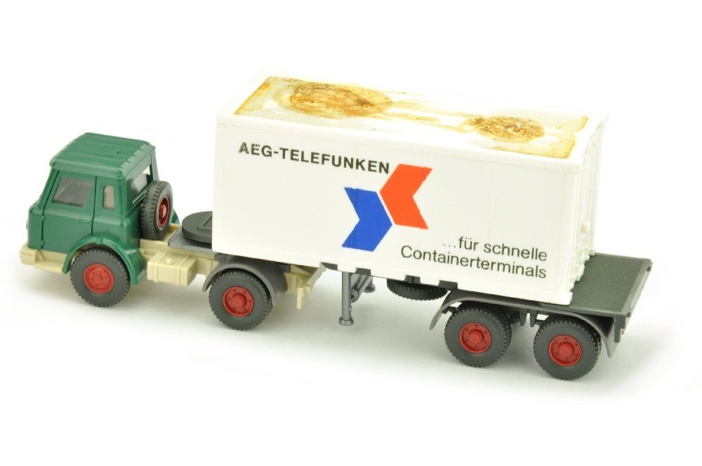 Werbemodell AEG/3 - Container-LKW - 2
