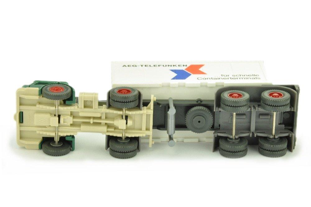 Werbemodell AEG/3 - Container-LKW - 3
