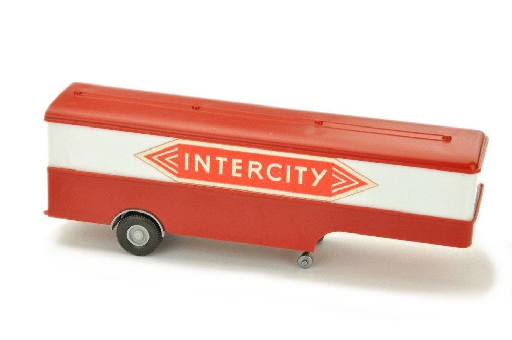 Auflieger fuer Koffer-Sattelzug MB 1620 Intercity