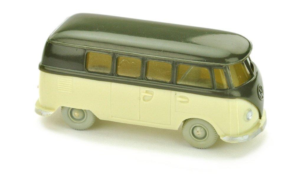 VW T1 Bus, olivgruen/hellgruenbeige
