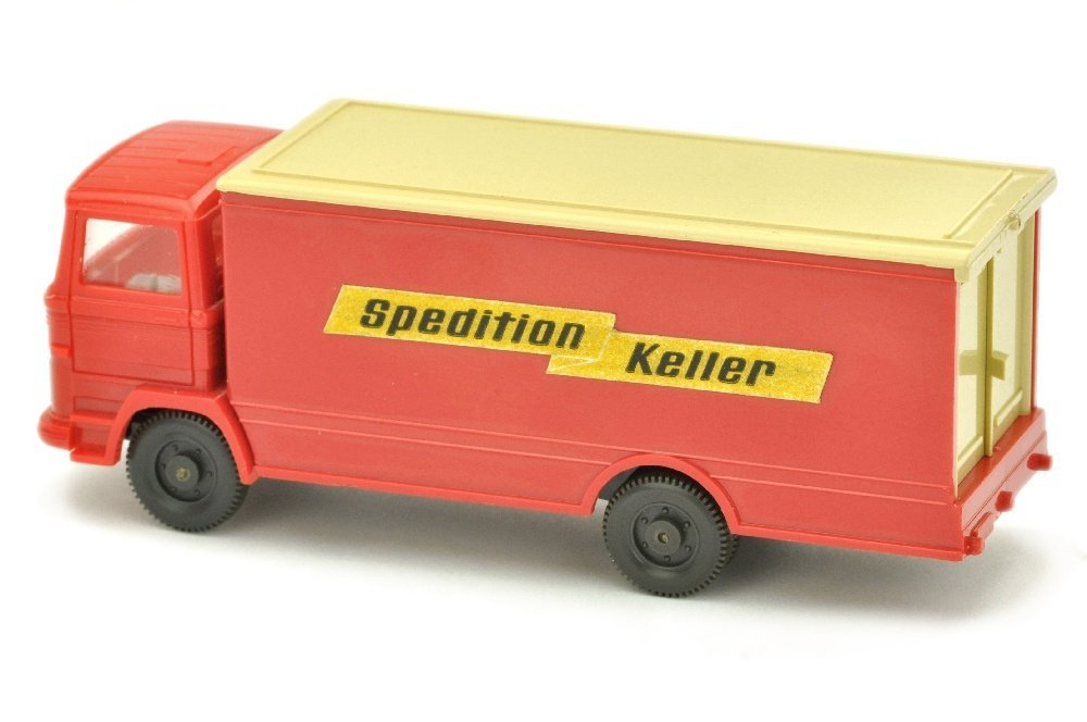 Koffer-LKW MB 1317 Spedition Keller - 2