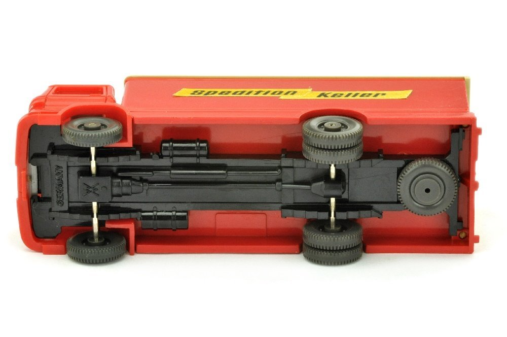 Koffer-LKW MB 1317 Spedition Keller - 3