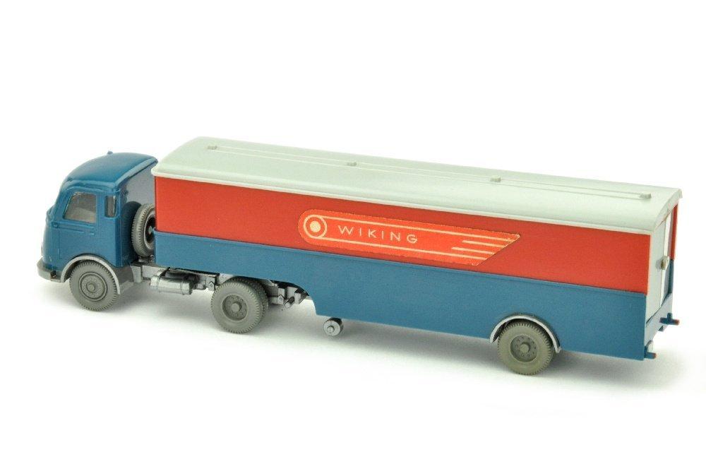 Koffer-Sattelzug MB Pullman Wiking (im Ork) - 2