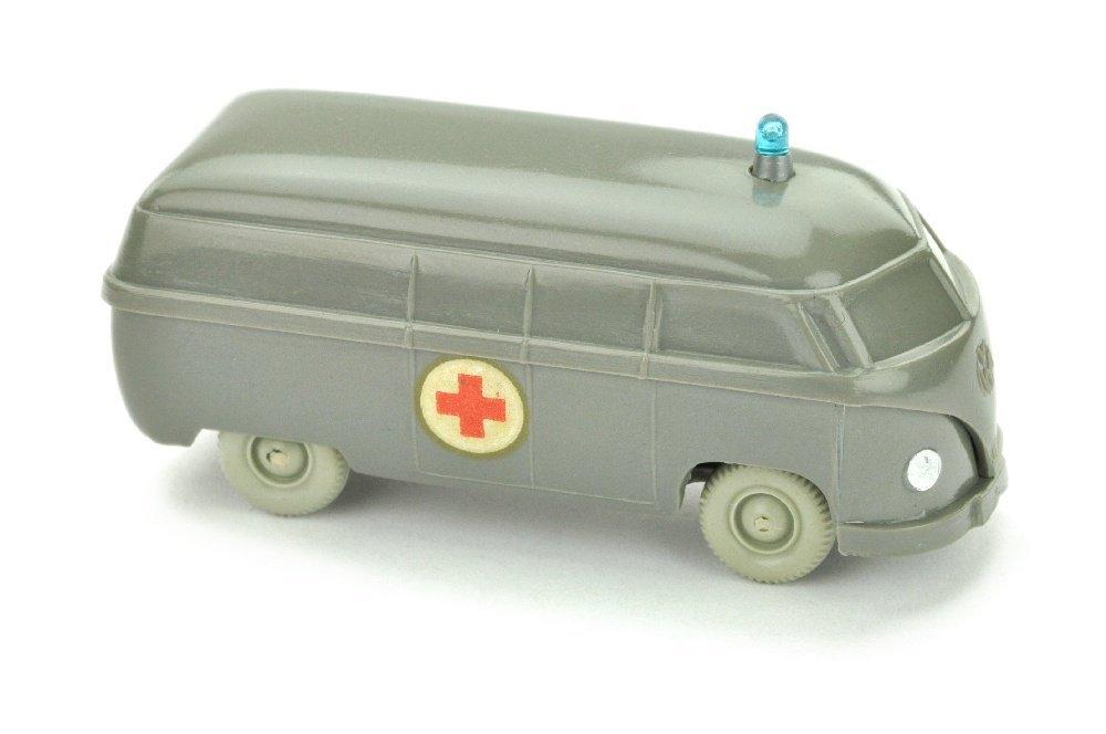 Krankenwagen VW Kasten (Typ 4), betongrau