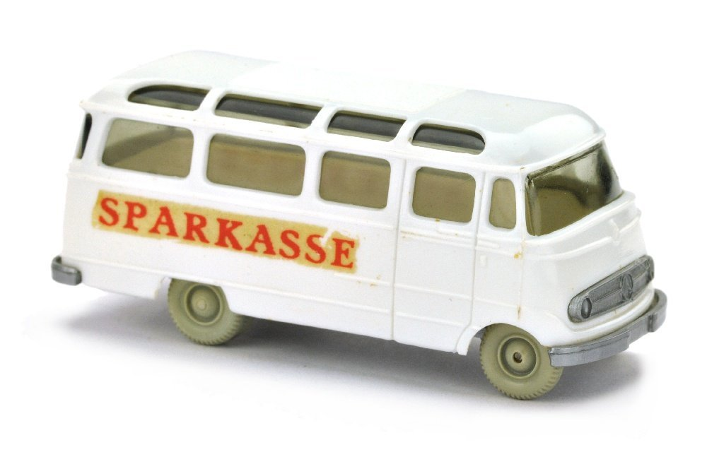 Werbemodell Sparkasse/B - MB L 319, weiss