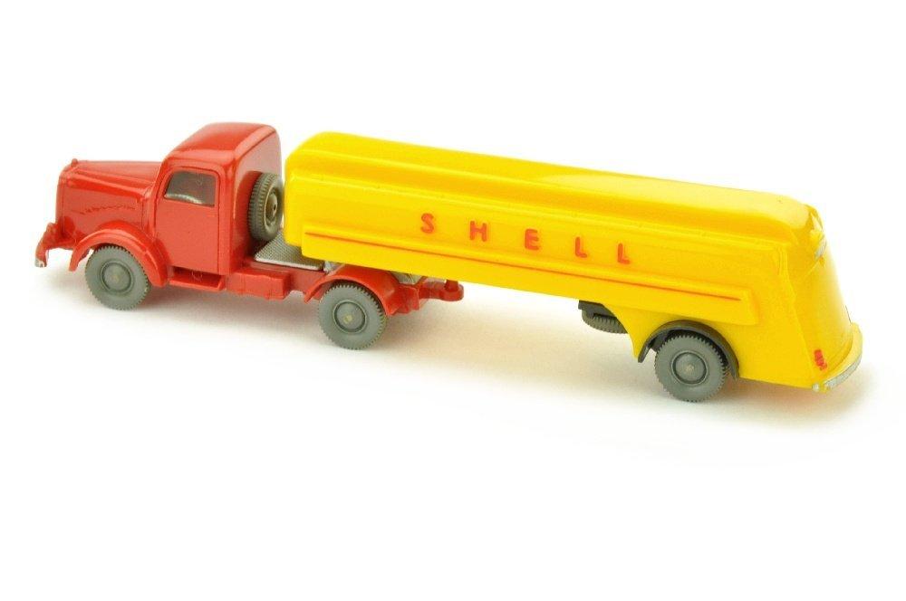 Shell-Tanksattelzug MB 5000, rot - 2