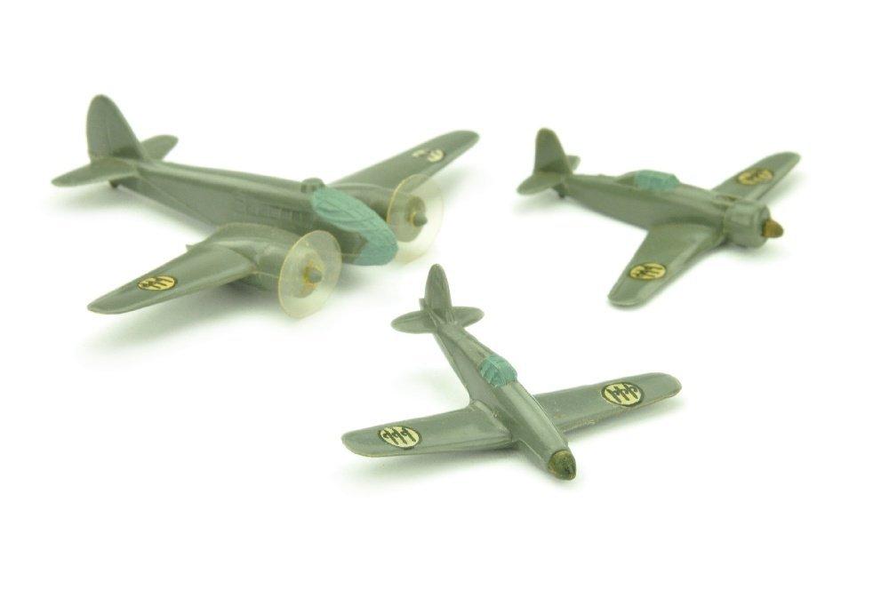 Konvolut 3 italienische Flugzeuge (Gruenlinge)