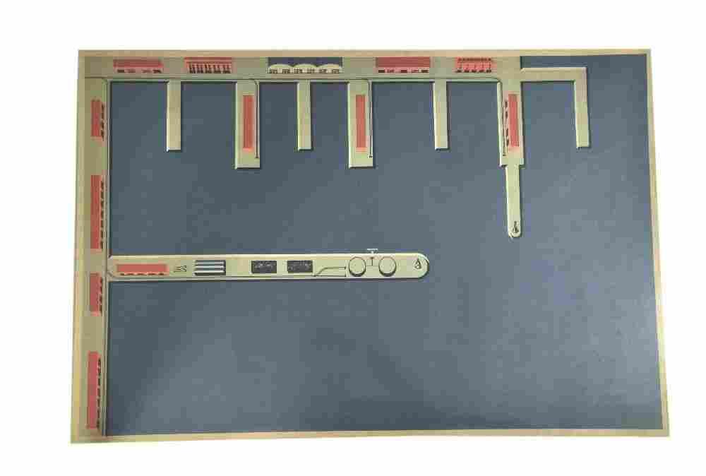 Hafenplan (82x55 cm, um 1960)