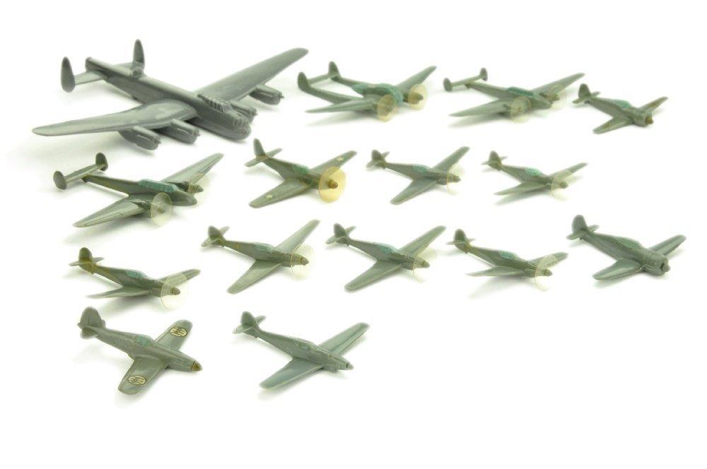 Konvolut 15 Flugzeuge (Vorkrieg)
