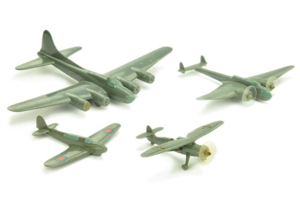 Konvolut 4 Flugzeuge (Vorkrieg, 2.Wahl)