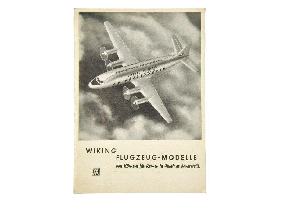 Flugzeug-Preisliste (um 1960)