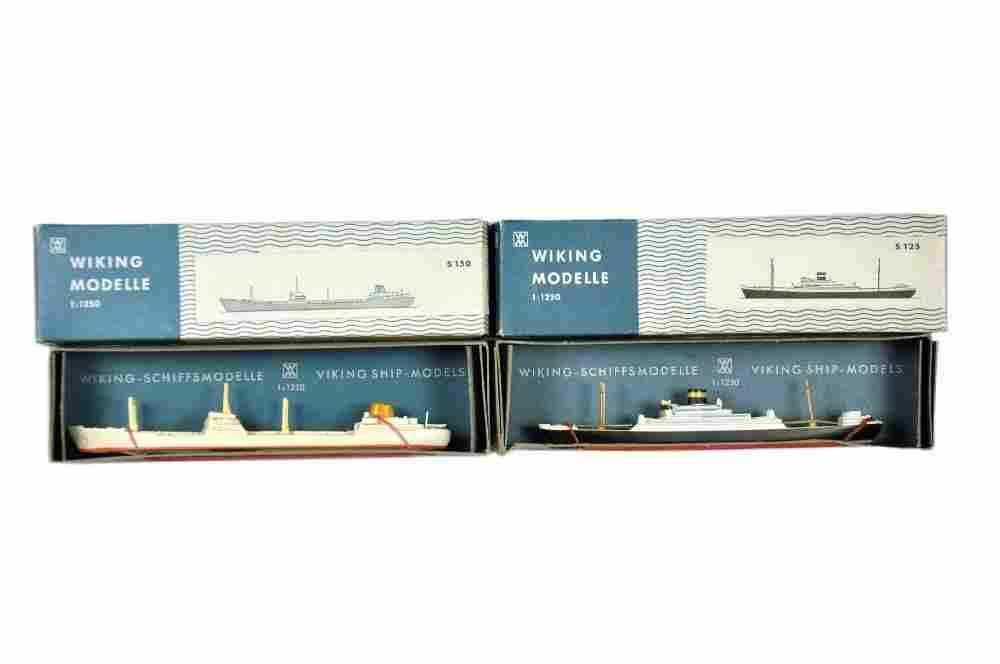 Konvolut 2 Schiffe (Nachkrieg, im Ork)