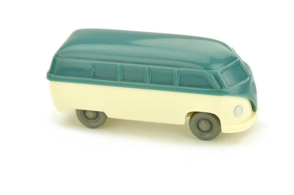 VW Bus (Typ 3), mattgraublau/cremeweiss