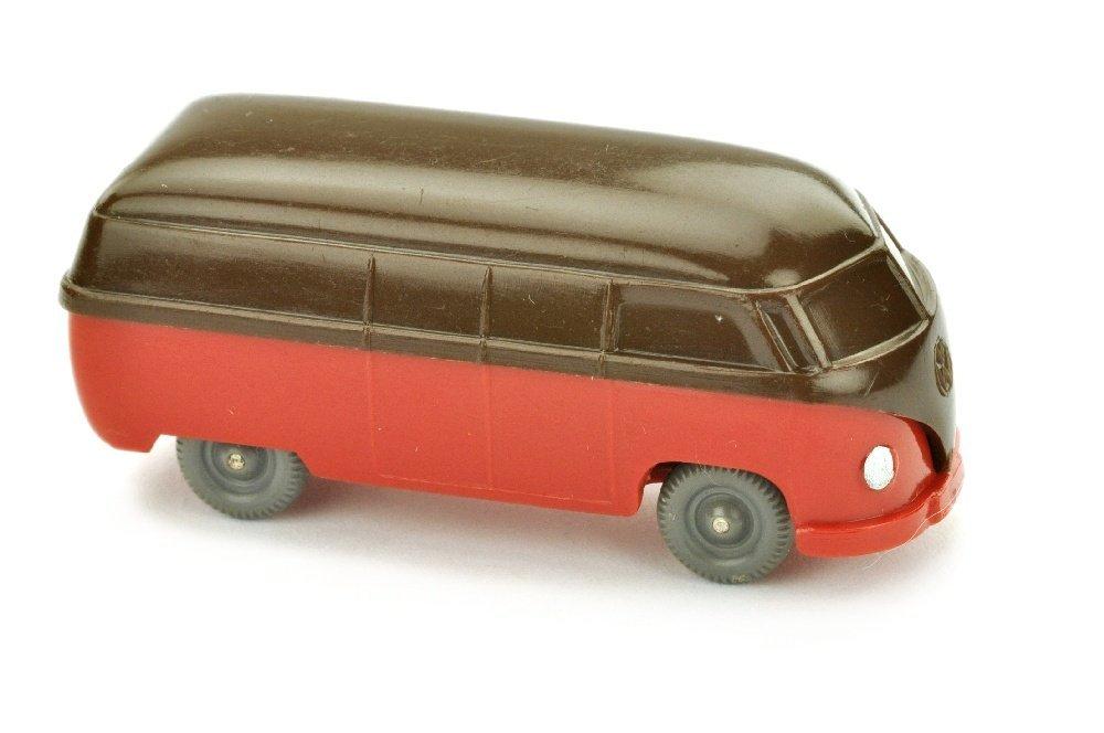 VW T1 Kasten (Typ 3), schokobraun/rot