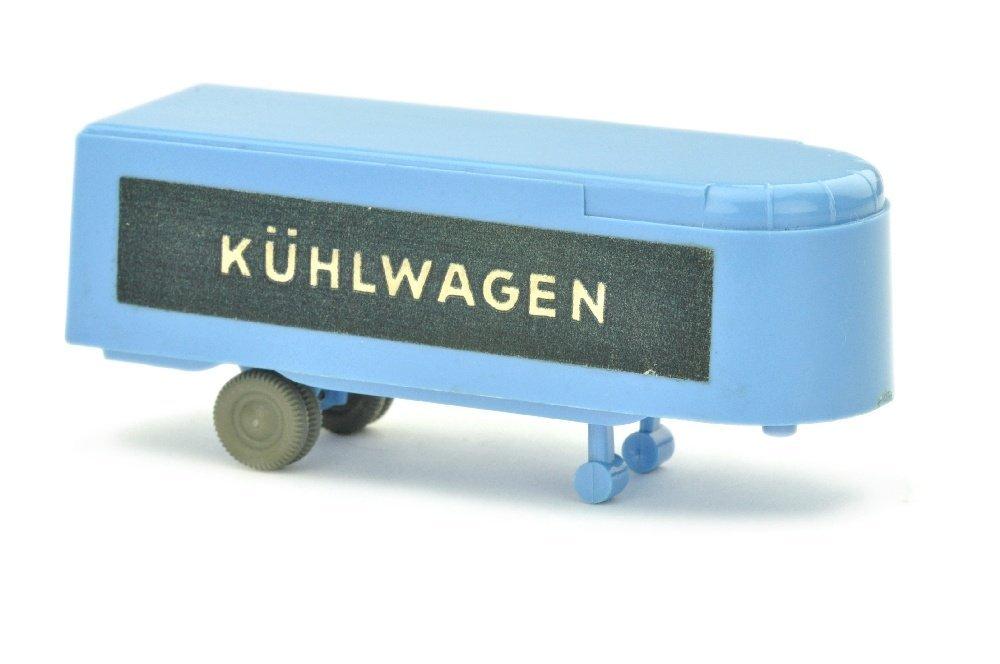 Auflieger zum Sattelzug Kuehlwagen, lilablau