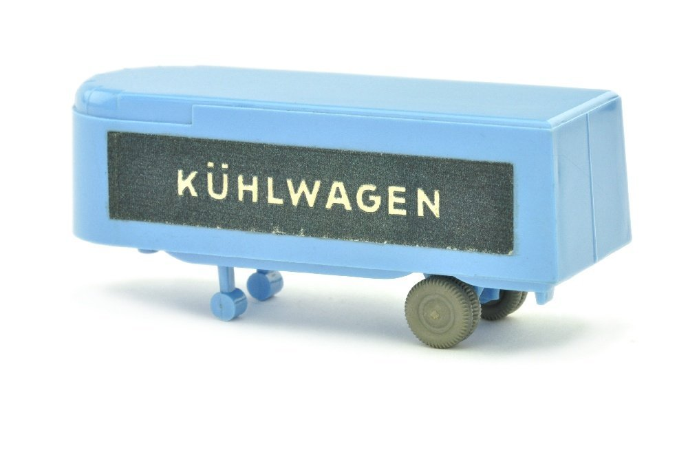 Auflieger zum Sattelzug Kuehlwagen, lilablau - 2