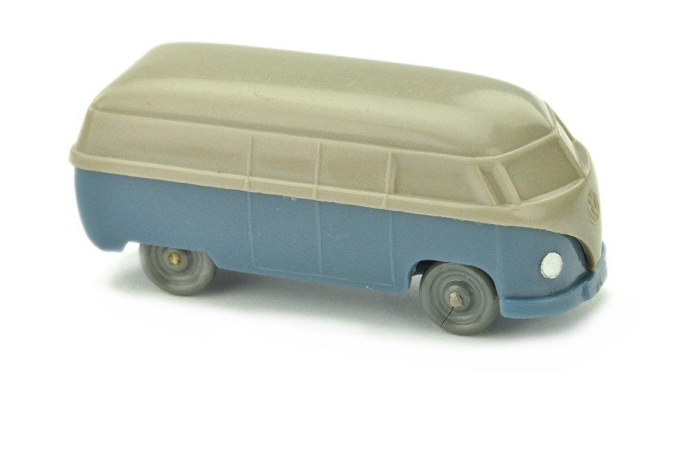 VW T1 Kasten (Typ 3), braunelfenbein/mattgraublau