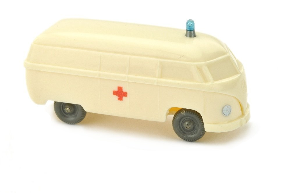 Krankenwagen VW Kasten (Typ 4), cremeweiss