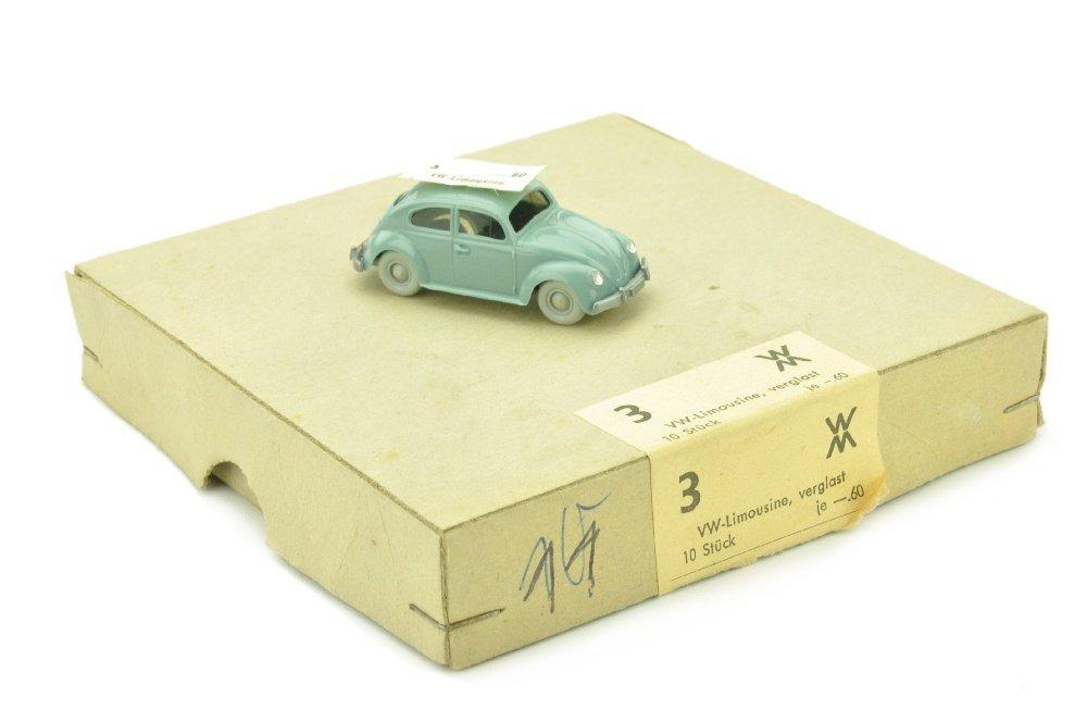 Haendlerkarton mit einem VW Kaefer (Typ 5)