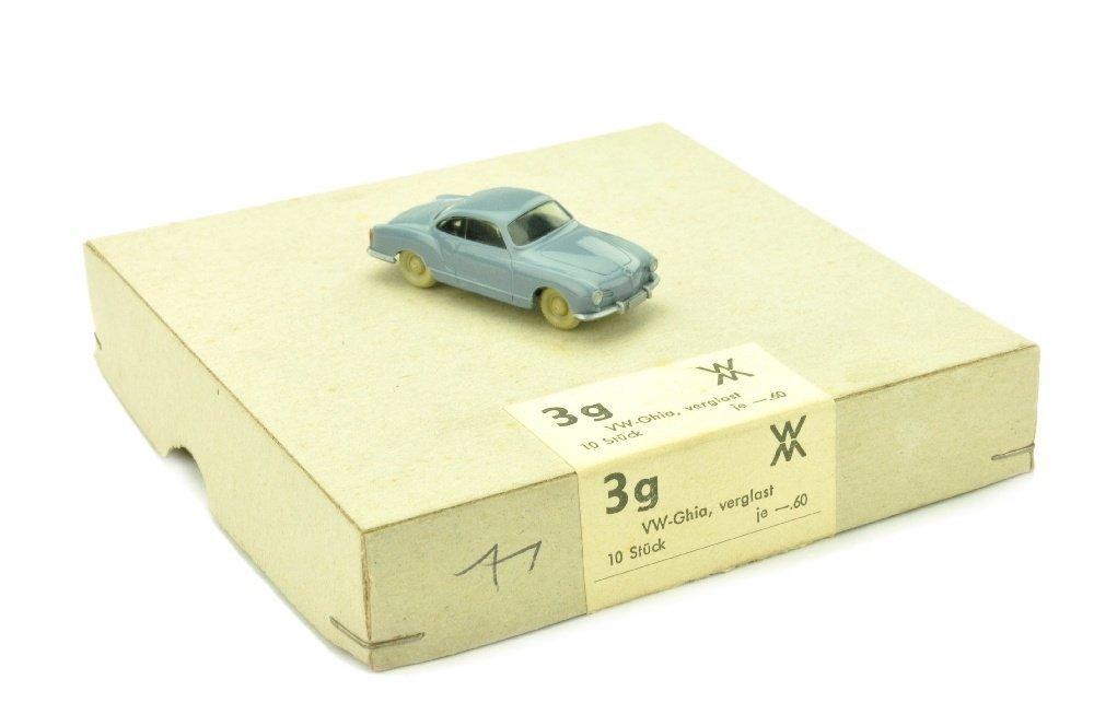 Haendlerkarton mit einem VW Karmann Ghia