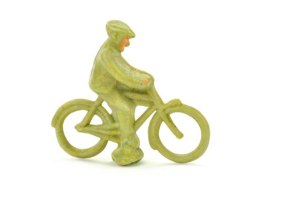 Radfahrer (maennlich), ca. lindgruen