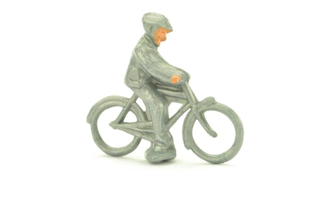 Radfahrer (maennlich), silbern