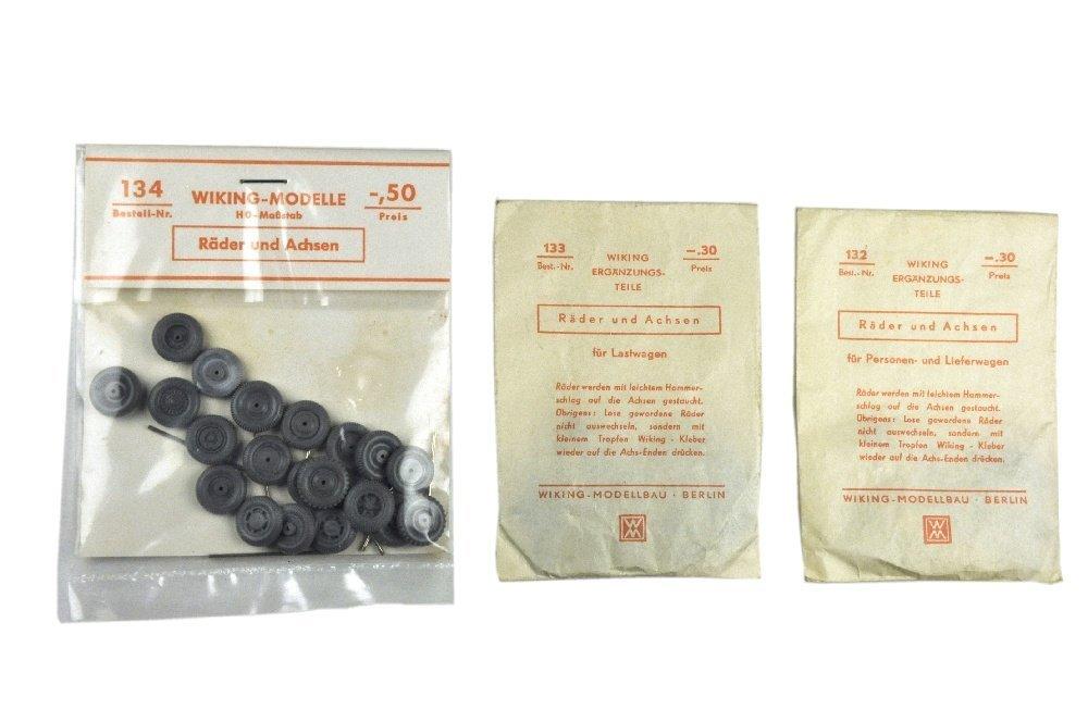 Konvolut 3 Radsortimente der 50er/60er Jahre