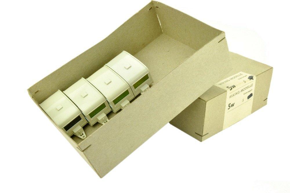 Haendlerkarton mit vier Wohnwagen Knaus (5w)