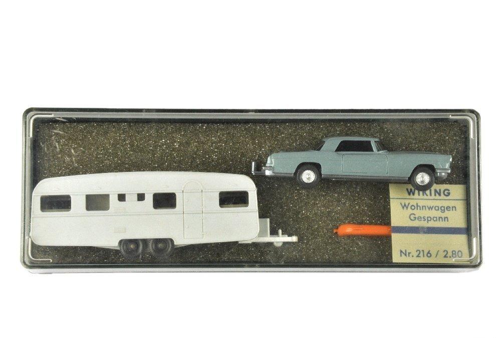 Geschenkpackung Wohnwagen (um 1968)