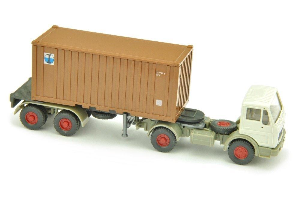 Inter Ocean - Container-Sattelzug MB 1617