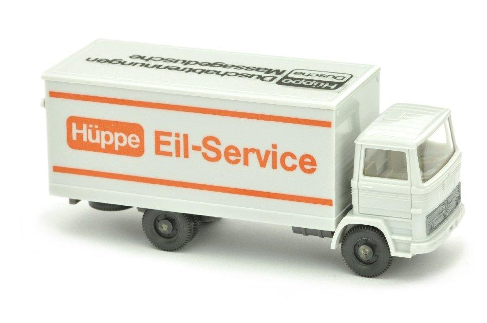 Hueppe/2C - Koffer-LKW MB 1317, altweiss
