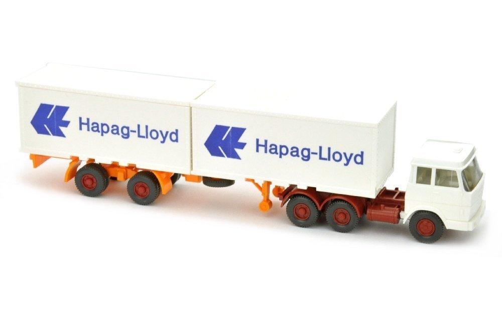 Hapag-Lloyd/7MM - Hanomag-Henschel, weiss