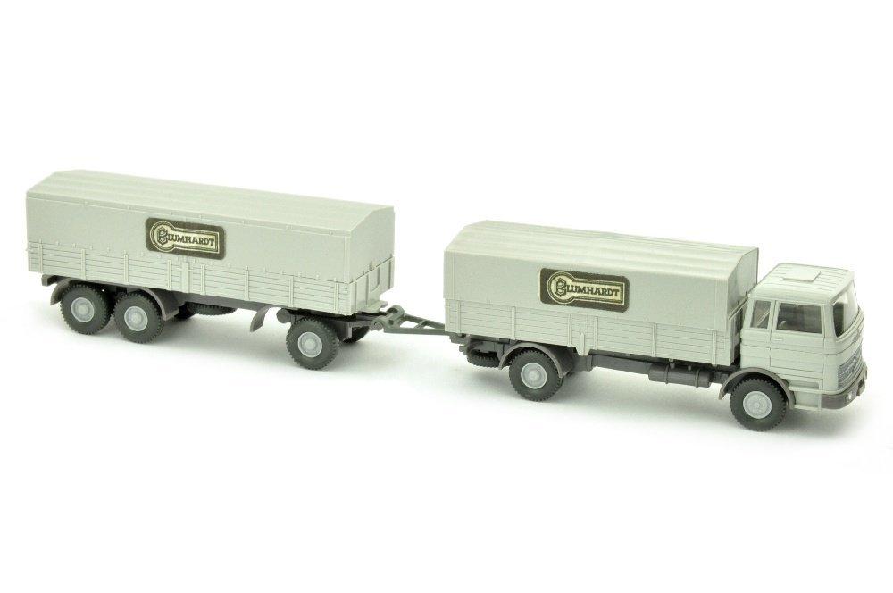 Blumhardt/3 - Lastzug MB 1620, achatgrau