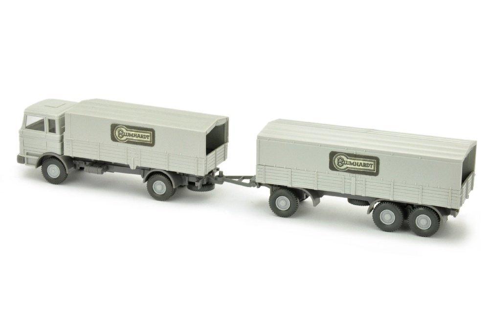 Blumhardt/3 - Lastzug MB 1620, achatgrau - 2