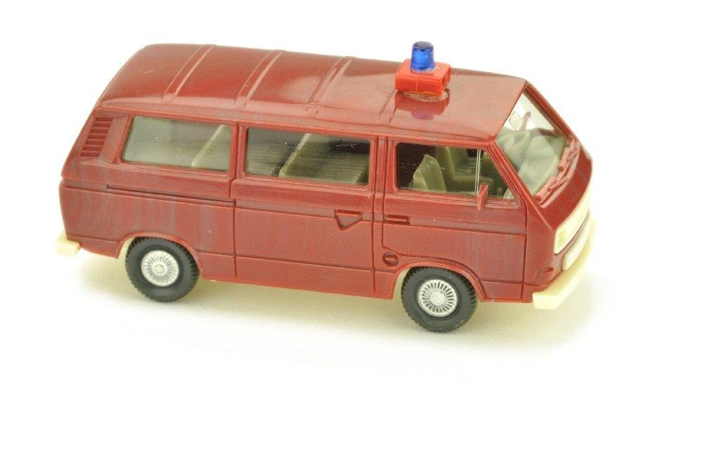Feuerwehr VW T3 Transporter, braunrot