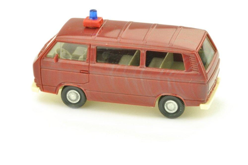 Feuerwehr VW T3 Transporter, braunrot - 2