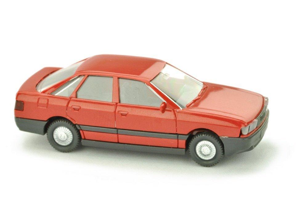 Audi 80, rubinrot