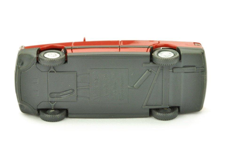Audi 80, rubinrot - 3