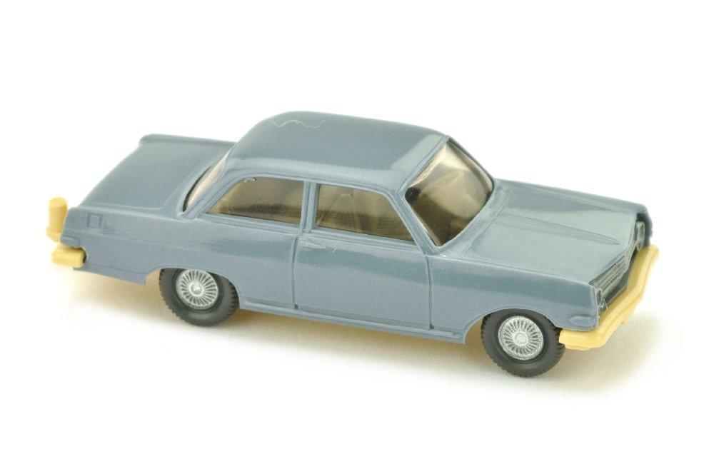 Opel Rekord A, graublau (Chassis hellbeige)