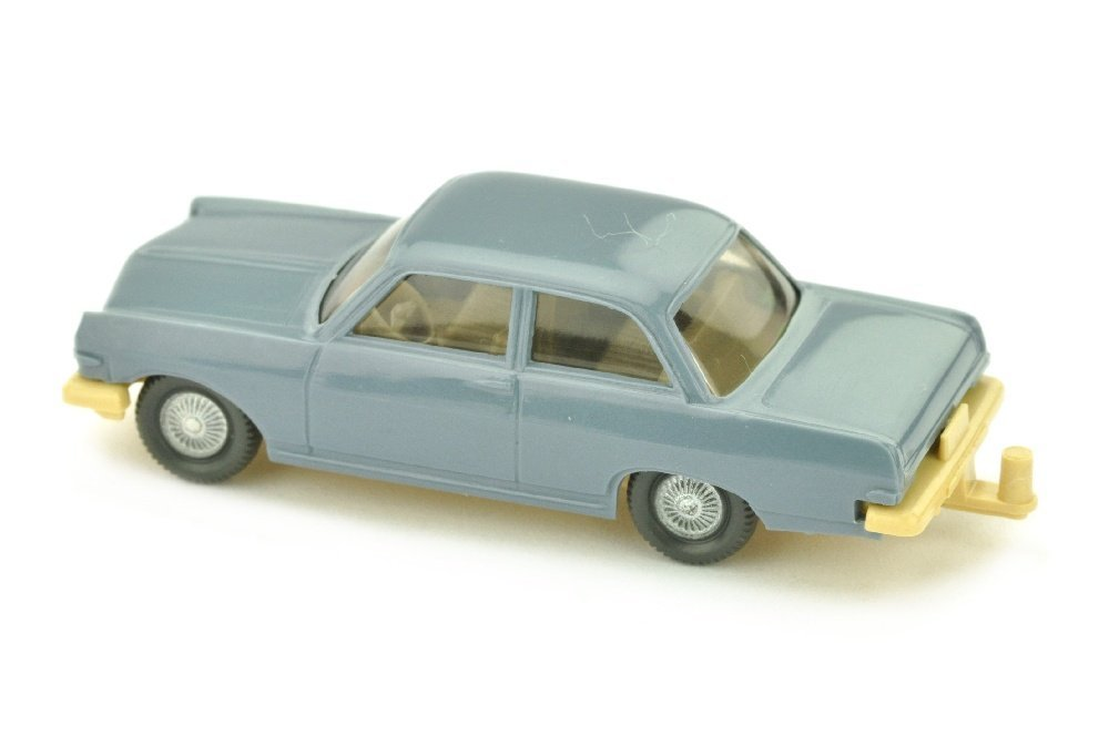 Opel Rekord A, graublau (Chassis hellbeige) - 2