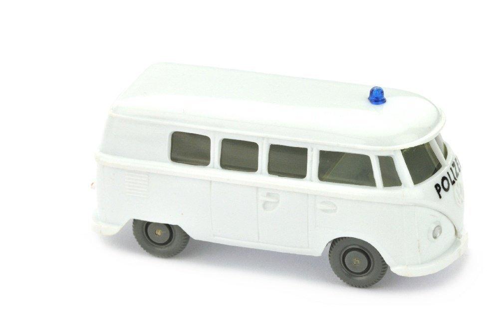 Polizeiwagen VW T1, weiss