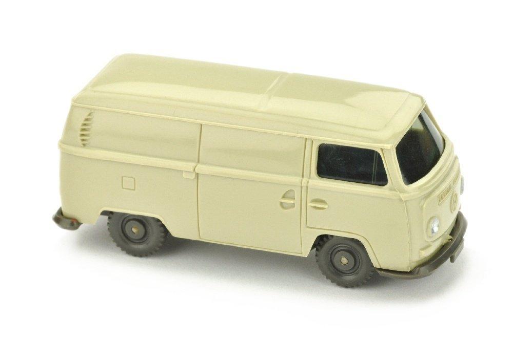 VW T2 Kasten, hellgelbgrau/misch-braun