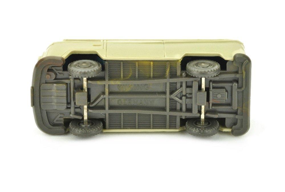 VW T2 Kasten, hellgelbgrau/misch-braun - 3
