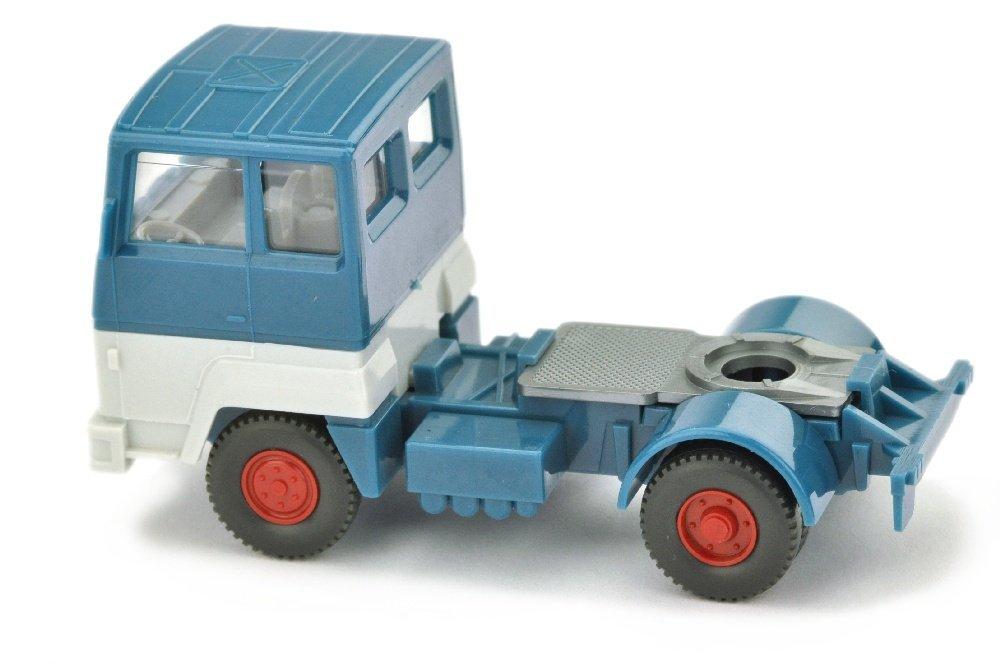 Zugmaschine Ford Transconti, azurblau/altweiss - 2