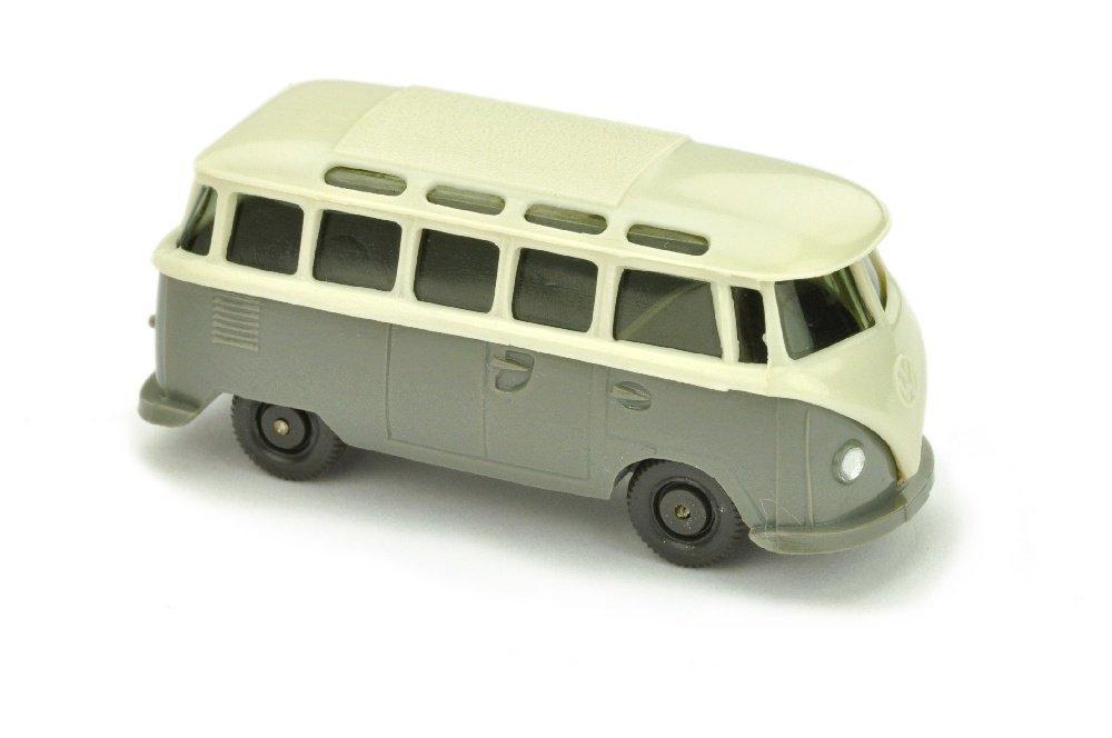 VW T1 Sambabus, perlweiss/betongrau